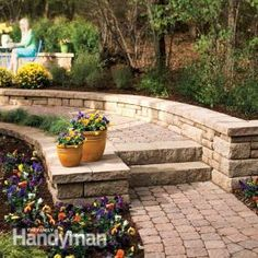 How to Build a Stone Path and Steps - Step by Step | The Family Handyman