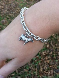I love this charm bracelet from cowartandmore.com. Perfect gift for the farm girl in your life!