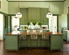 Sherwin Williams OYSTER BAY . .I really like this kitchen