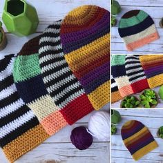 Free crochet pattern: Slouchy Beanie with video by Olena Huffmire Designs for Underground Crafter Easy Crochet Baby Hat, Slouch Hat Crochet Pattern, Crochet Hat Tutorial, Slouchy Beanie Pattern, Crochet Slouchy Beanie, Crochet Hook Set, All Free Crochet, Unique Crochet, Knitted Hats