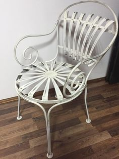 Chair, Furniture, Home Decor, Wrought Iron Garden Furniture, Lounge Chairs, Decoration Home, Room Decor, Home Furnishings, Stool