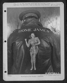 Bomber crew jacket