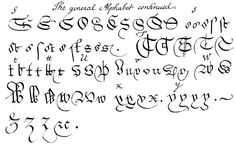 second page of 1776 guide to old handwritten legal documents for the Inner Temple