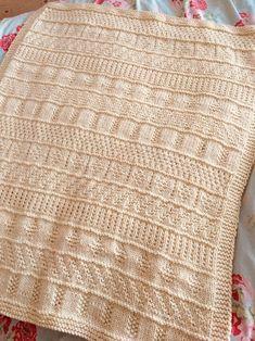 Knitting Pattern Sample Stripes Blanket PDF Instant   Etsy Elephant Cross Stitch, Katherine Johnson, Cute Pattern, Baby Knitting Patterns, Cross Stitch Patterns, Knit Crochet, Stripes, Blanket, Etsy