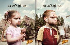 caveman girl print ad - Google Search