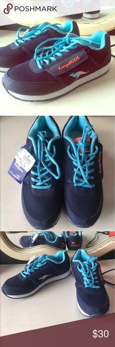 Kangaroos Gym Shoes Never Worn. True to size. 🚫No trades ✅ Price Negotiable  ✅ Bundles ▪️smoke free/pet free home 📬 Same/Next day shipping  📷 Instagram: @laurenweichmann 📱Pinterest: SantoriniGirl13 kangaroos Shoes Sneakers