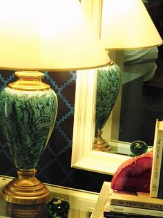 DIY - Malachite Lamp