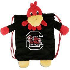 "South Carolina Gamecocks "" Cocky"" Backpack Pal #school #backtoschool"