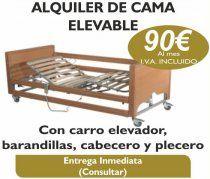 CAMAS ARTICULADAS CON CARRO ELEVADOR precios