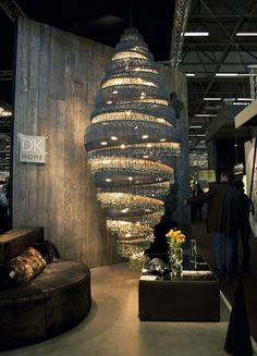 Maison & Objet is a bi-annual trade show for the furniture, furnishings and home decor industry. Collections for 2012 Task Lighting, Accent Lighting, Lighting Design, Pendant Lighting, Chandelier, Trade Show, Floor Lamp, Light Fixtures, House Design