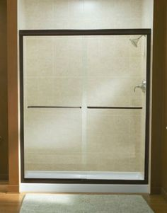 Sterling Finesse Frameless By-Pass Shower Door, fits Advantage 48 at Menards