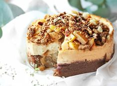 Sweet Desserts, Vegan Desserts, Sweet Recipes, Delicious Desserts, Healthy Cake, Healthy Sweets, Healthy Baking, Healthy Food, Baking Recipes