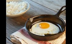 "How to make a perfect fried egg every time. A little bit of steam ensures that you'll never have an under- or overcooked egg white again. From the book ""Mad Hungry,"" by Lucinda Scala Quinn (Artisan Books). Breakfast Dishes, Breakfast Recipes, Health Breakfast, Perfect Fried Egg, Hp Sauce, Simply Yummy, Huevos Fritos, Martha Stewart Recipes, Little Lunch"