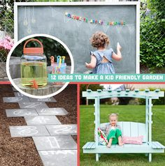 DIY-ify: 12 Ideas to Make a Kid Friendly Garden