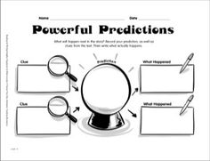 Reading Graphic Organizer: Powerful Predictions
