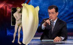 Watch Stephen Colbert Make it Rain with Endives