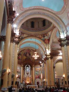 """Interior de la Catedral """"San Nicolas de Bari"""" """"La Rioja"""" Argentina"""