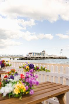 The view towards #Bournemouth pier from Seventa Events summer 'pop-up'