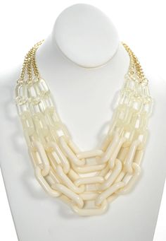 Chain of Fools in Ivory - Jewelry $22.50