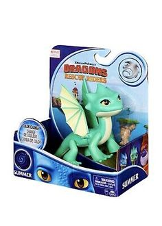 """Dreamworks DRAGONS Rescue Riders COLOR CHANGE SUMMER 6"""" Dragon Netflix READ! 