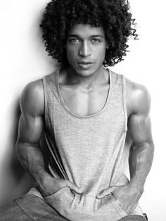 African American men often have thick coarse hair that can become unmanageable and hard to style and Afro Hairstyles for Black Men. I searched for this on images Black Men Hairstyles, Afro Hairstyles, Haircuts For Men, Curly Haircuts, Curly Hair Men, Curly Hair Styles, Natural Hair Styles, Curly Afro, Wavy Hair