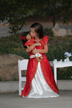 Elena of Avalor Dolly and Me Matching Dress / by SewCuteDollyAndMe