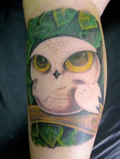 15 Outstanding Owl Tattoos