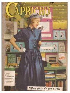 """ANOS DOURADOS: IMAGENS & FATOS: IMAGENS - Revista: Importantes revistas dos anos 50/60 (IV) - Fotonovelas: """"CAPRICHO"""" 1954"""