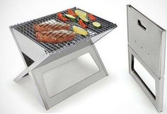 Practically Flat Portable Cookers