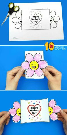 Happy Mothers Day Card Template Glückliche Mutter-Tageskarten-Schablone Simple and a laugh actions for youngsters (Visited 1 times, 1 visits today) Mothers Day Crafts For Kids, Diy Mothers Day Gifts, Mothers Day Quotes, Mothers Day Cards, Happy Mothers Day, Fathers Day, Mother Card, Child Quotes, Son Quotes