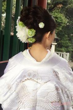 満開桜♡神前式から始まる素敵なウエディングDAY! |大人可愛いブライダルヘアメイク『tiamo』の結婚カタログ