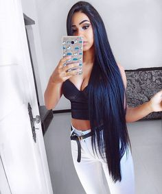 Affordable malaysian virgin hair straight weave with lace closure,factory direct sale 100 straight human hair extensions Straight Weave Hairstyles, Loose Hairstyles, Virtual Hairstyles, Elegant Hairstyles, Black Hairstyles, Long Black Hair, Dark Hair, Long Hair Tips, Really Long Hair