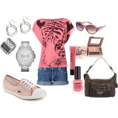 Tigress, created by renamichelle on Polyvore. I would get different sneakers tho!
