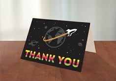 """""""Thank you"""" card - Designed by Artsy Geek www.artsygeek.com"""