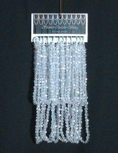 Shower Curtain Bling Crystal Via Etsy Resin Swarovski Beads