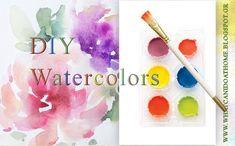 DIY - Φτιάχνω Σπιτικές Νερομπογιές  #homemade #watercolors Watercolor, Canning, Diy, Watercolor Painting, Bricolage, Home Canning, Do It Yourself, Watercolors, Fai Da Te