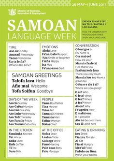 Samoan proverbs and phrases