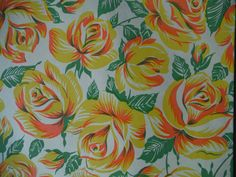 Shabby Chic Roses - Vintage Wrapping Paper on Etsy, $4.00