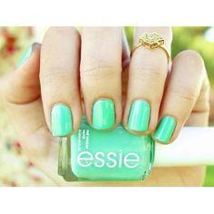 Essie nail polish! What color is this seafoam green called?
