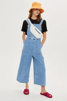 Wide Cropped Leg All In One - New In Fashion - New In - Topshop