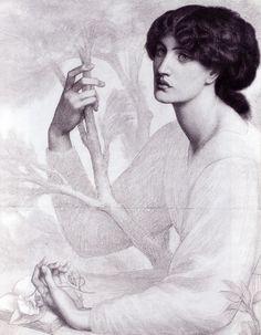 The Day Dream - Dante Gabriel Rossetti, 1878
