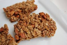 """Crunchy Oats & Honey Granola Bars - Amanda says: I tweaked it a bit. Replaced the nuts with millet, used wheat germ rather than ground flax. Let me just say this is *hands down* my most favorite granola recipe so far. I didn't make """"bars"""" but let it cook a little longer, and broke it into pieces for granola. A fantastic topping for our homemade yogurt!"""