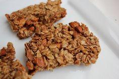 crunchy oats and honey granola bars