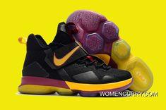 3f4d852d3bf Nike LeBron 14 Cavs PE Black Wine Red Gold Online