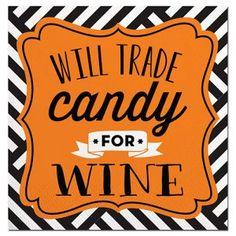 Will Trade Candy Beverage Napkin