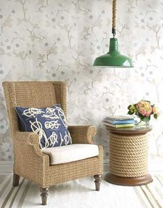 nautical+decor | ... themed cushion and a able are perfect for creating nautical decor