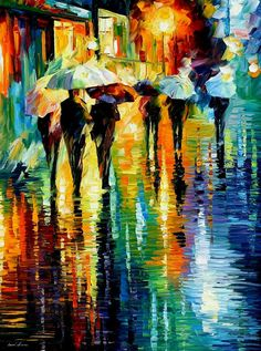 #ModernArt #Afremov #colorful