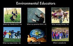 Environmental Educators poster I created