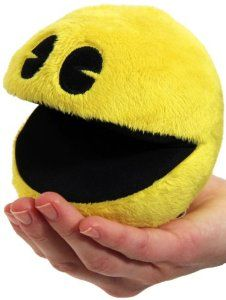 "Amazon.com: Paladone Pac-Man 4"" Plush with Sound: Toys & Games"