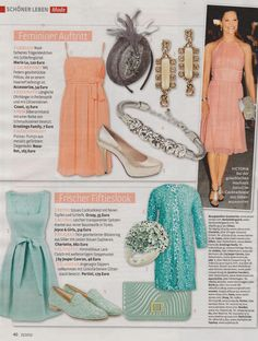 """RosaRot's Heaven-3 perla seen in """"Frau im Spiegel"""" magazine, 15.05.2013"""